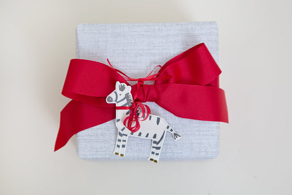 Zebra Pretty Gift Tag-3