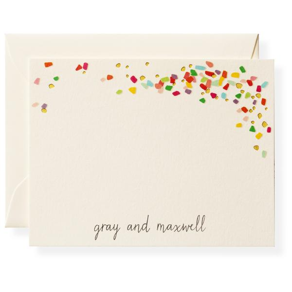 Confetti Personalized Notes