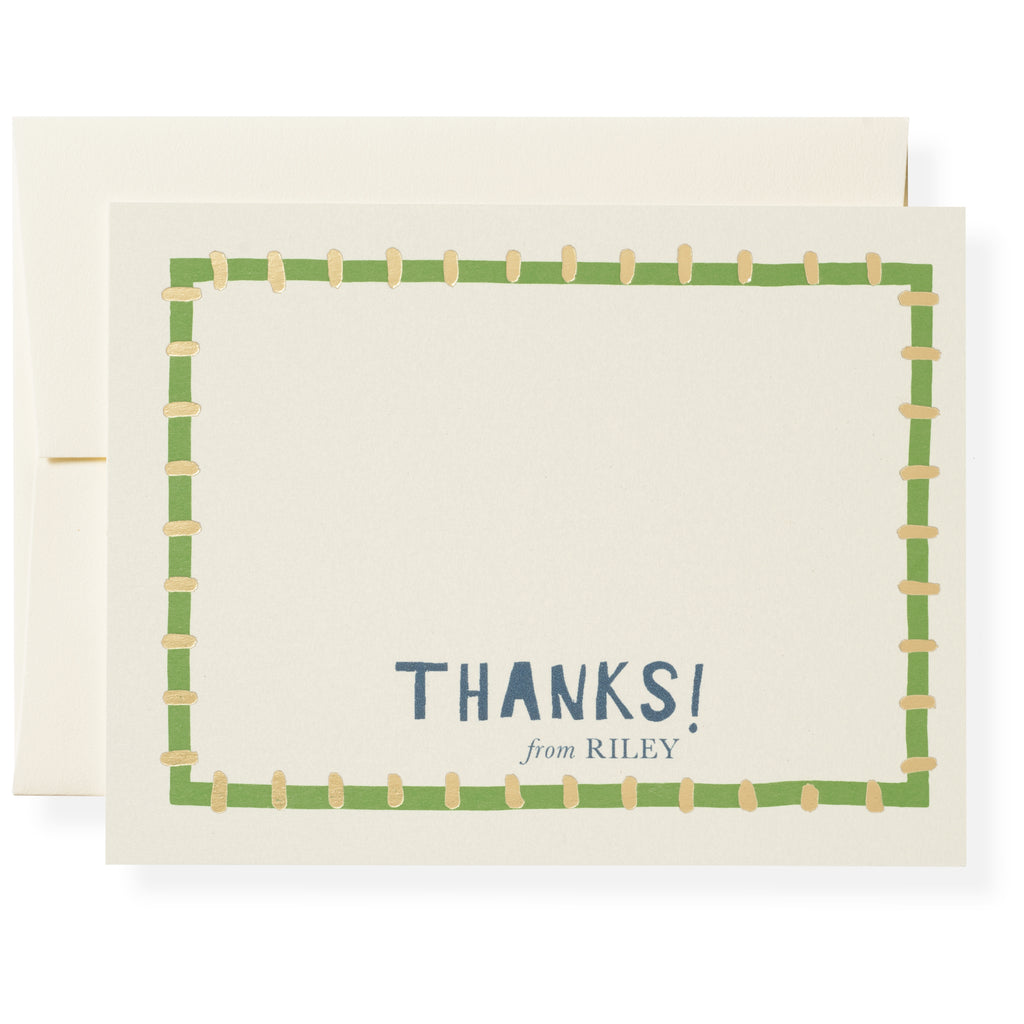 Kate in Green Personalized Notes