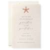 Sea Star Invitation