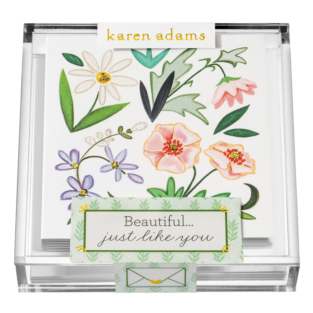 Beautiful You Gift Enclosures in Acrylic Box