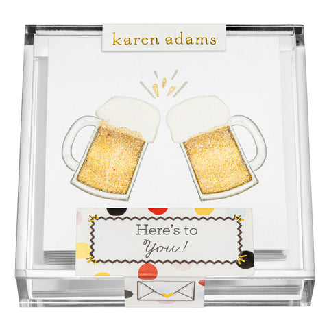 Beers Gift Enclosures in Acrylic Box
