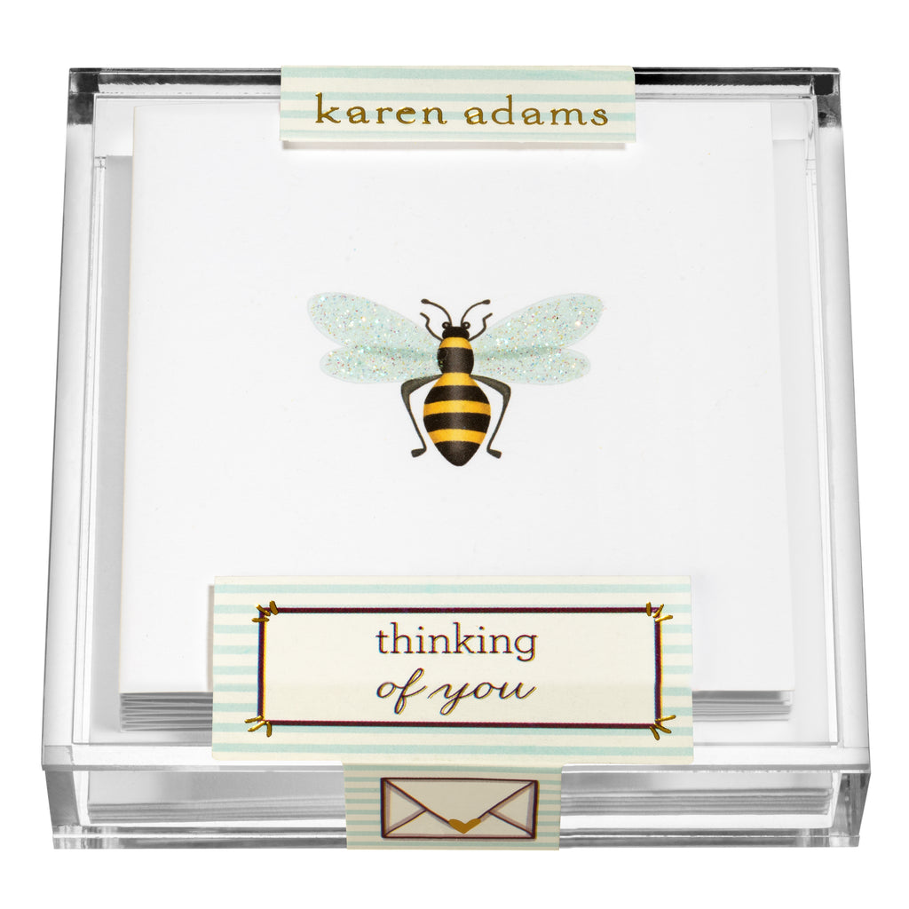 Bee Gift Enclosures in Acrylic Box