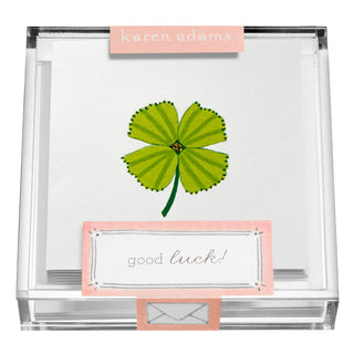 Clover Gift Enclosures in Acrylic Box