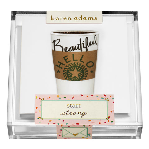 Coffee Gift Enclosures in Acrylic Box