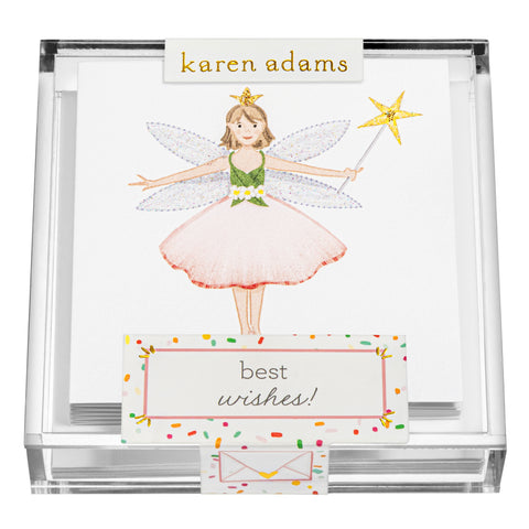 Fairy Gift Enclosures in Acrylic Box