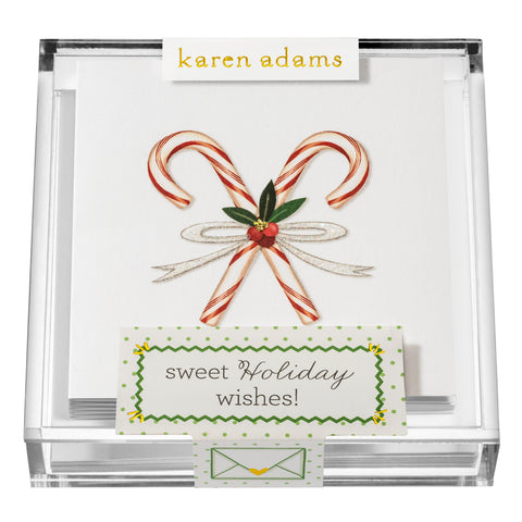 Sweet Holiday Wishes Gift Enclosures in Acrylic Box