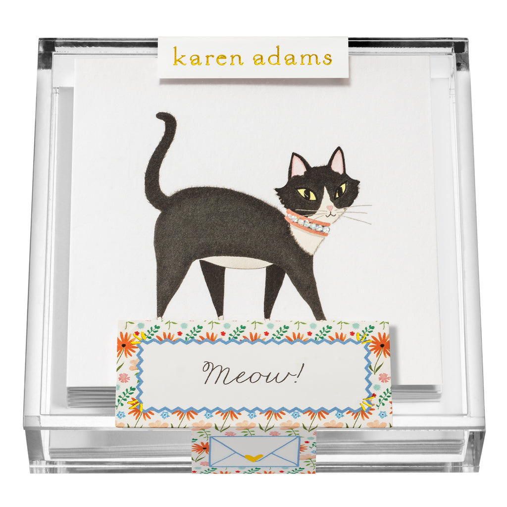Meow Gift Enclosures in Acrylic Box