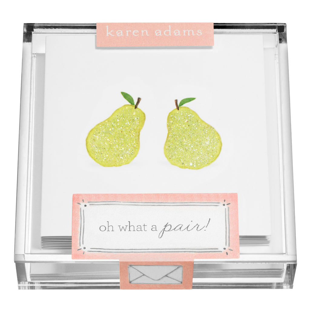Pears Gift Enclosures in Acrylic Box
