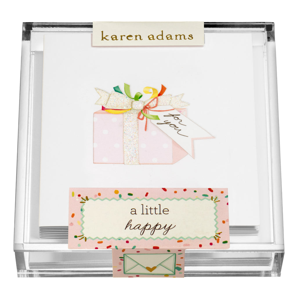 Present Gift Enclosures in Acrylic Box