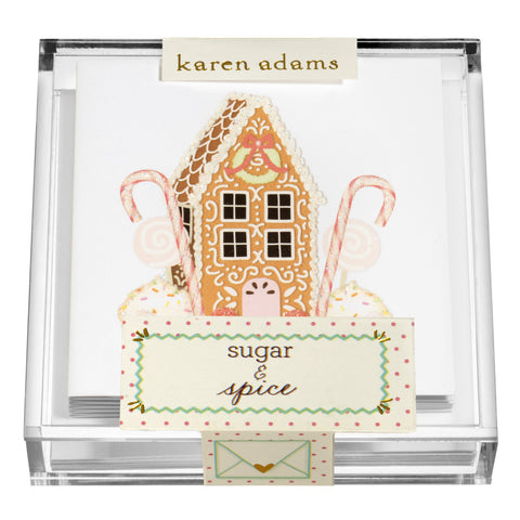 Spice House Gift Enclosures in Acrylic Box