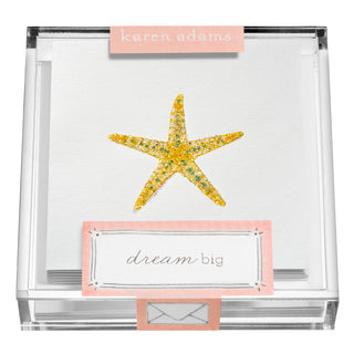 Starfish Gift Enclosures in Acrylic Box