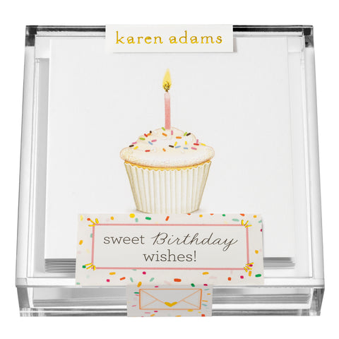 Sweet Birthday Wishes Gift Enclosures in Acrylic Box