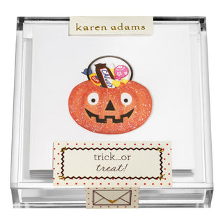 Trick or Treat Gift Enclosures in Acrylic Box