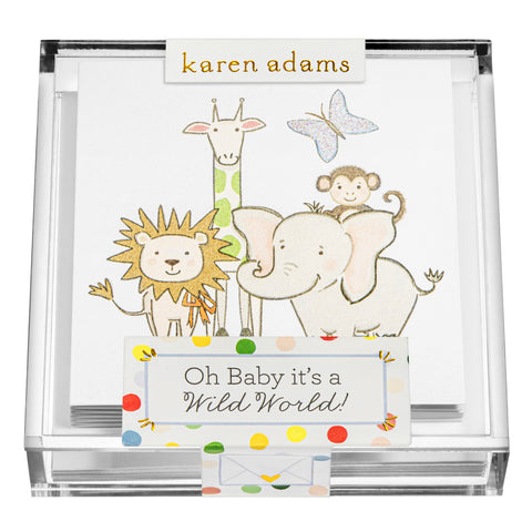 Wild Gift Enclosures in Acrylic Box