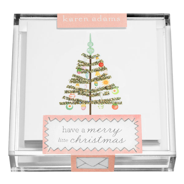 Christmas Tree Gift Enclosures in Acrylic Box-1
