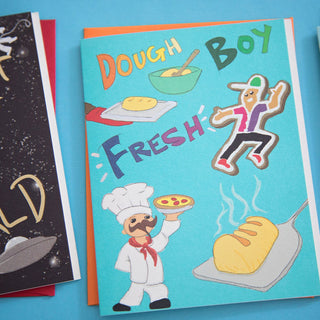 Dough Boy Fresh Greeting Card