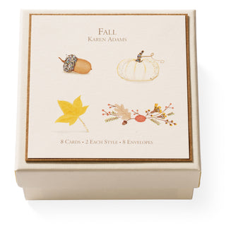 Fall Gift Enclosure Box