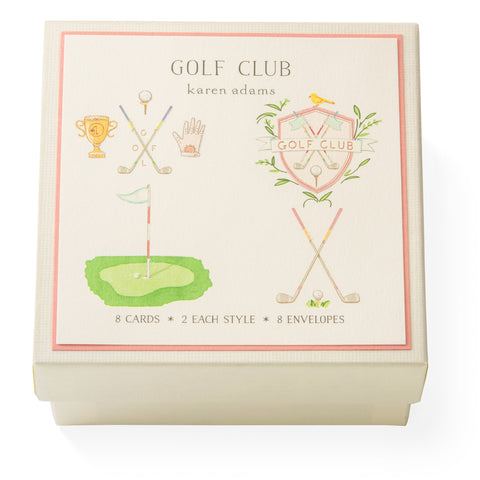 Golf Club Gift Enclosure Box