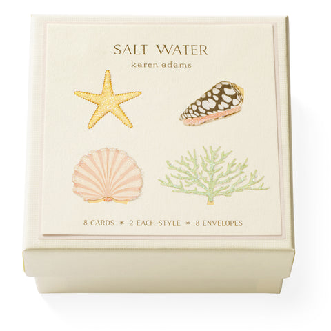 Salt Water Gift Enclosure Box