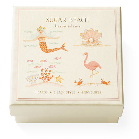 Sugar Beach Gift Enclosure Box