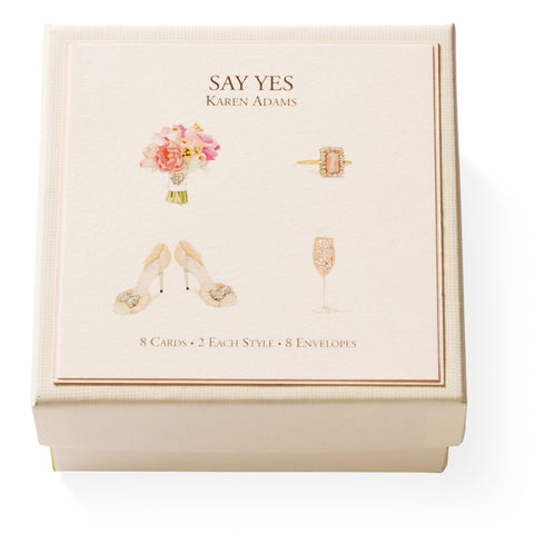 Say Yes Gift Enclosure Box