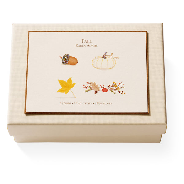 Fall Note Card Box-1