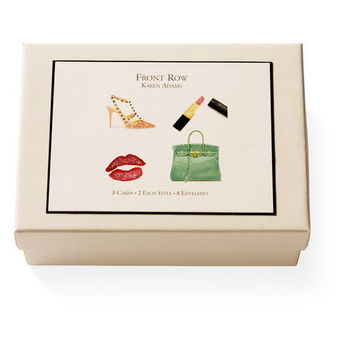 Front Row Note Card Box