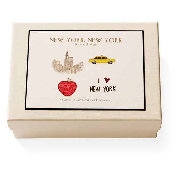 New York, New York Note Card Box-1