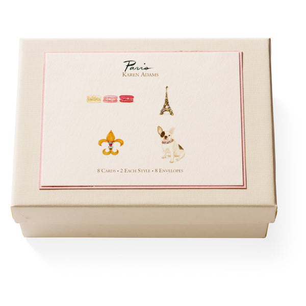 Paris Note Card Box-1