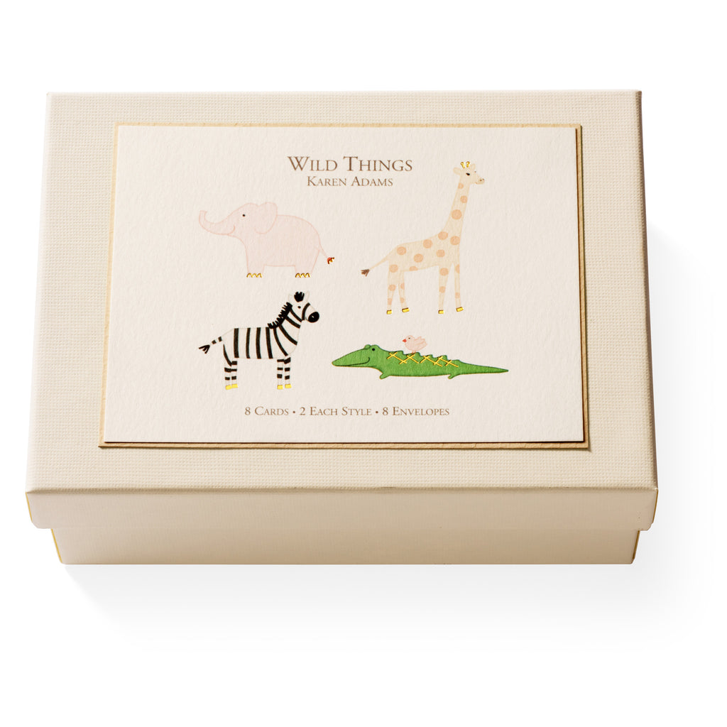 Wild Things Note Card Box