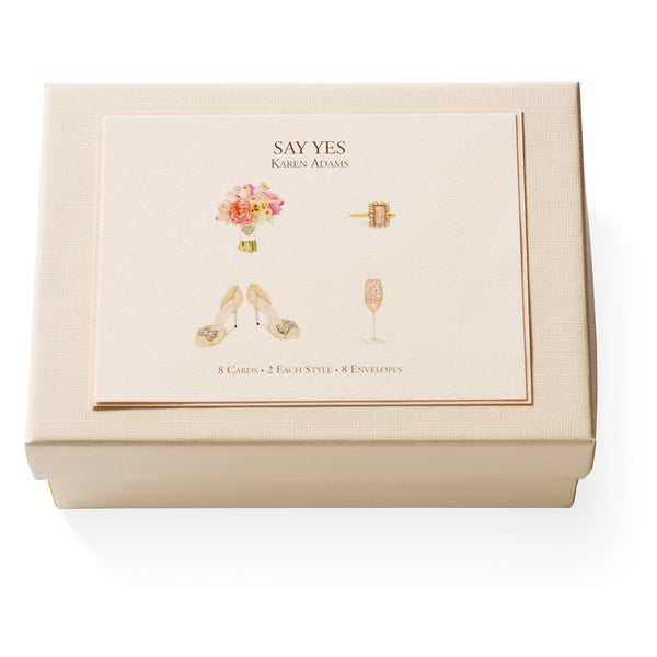 Say Yes Note Card Box-1