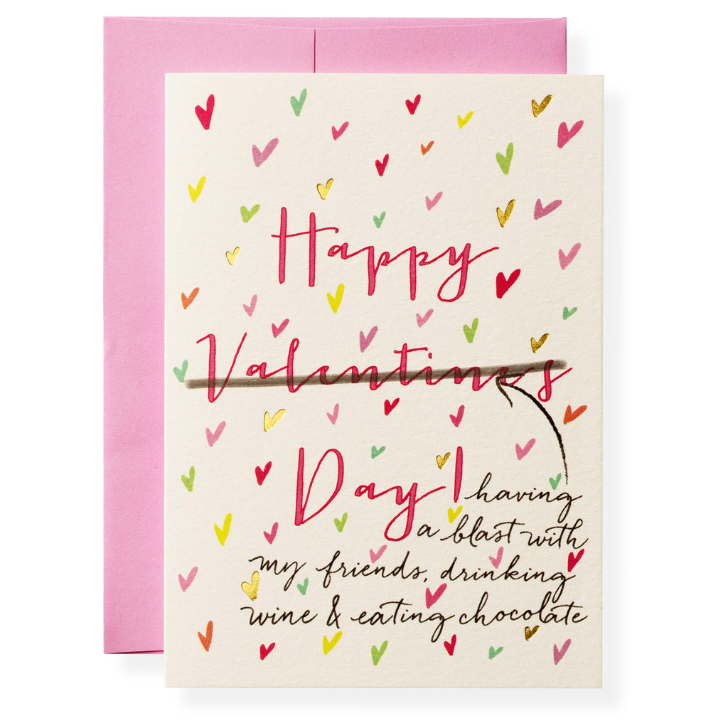 Anti-Valentine's Greeting Card