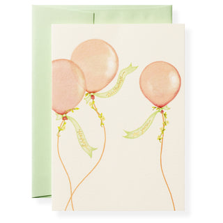 Balloons Greeting Card