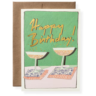 Birthday Bubbles Greeting Card