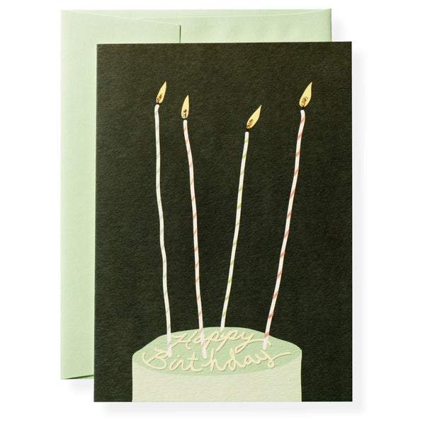 Birthday Candles Greeting Card-1