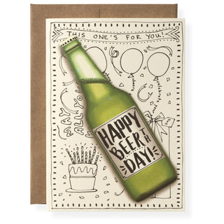 Beerthday Greeting Card