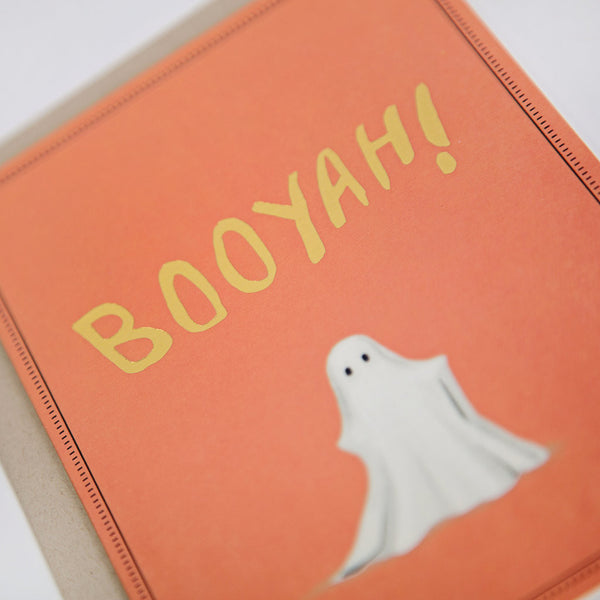 Booyah Greeting Card-2