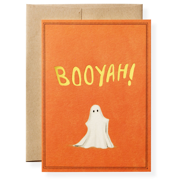 Booyah Greeting Card-1