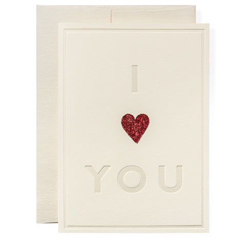 I Heart You Greeting Card