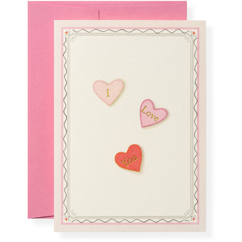 Necco Love Greeting Card