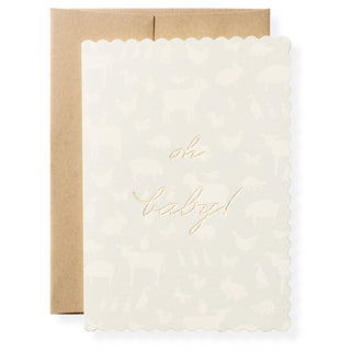 Oh Baby Boy Greeting Card