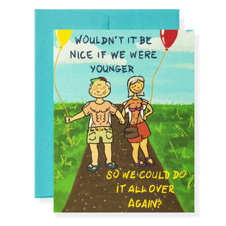 Over Again Greeting Card