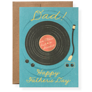 Record Greeting Card