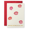 Smooch Greeting Card