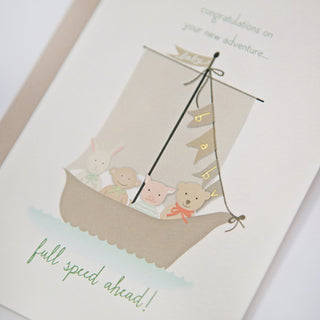 Speedy Greeting Card