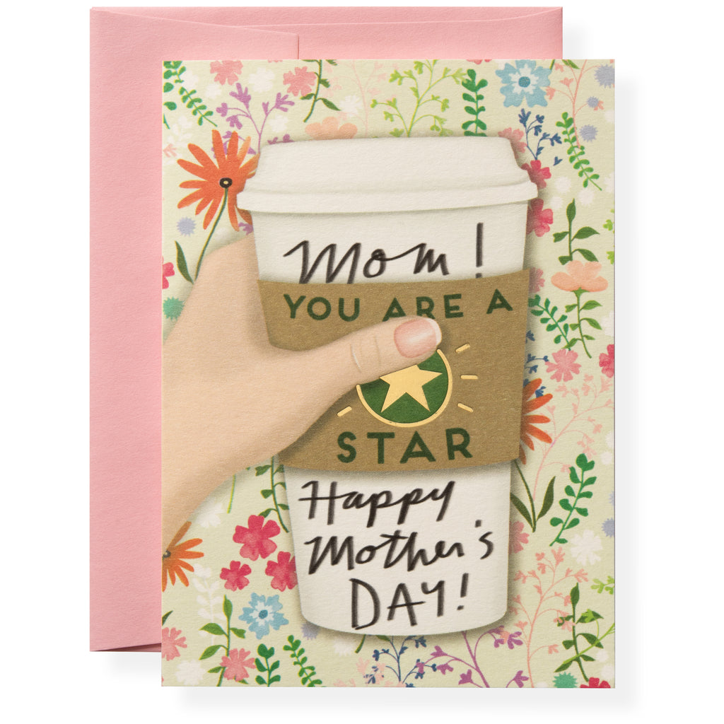 Star Mom Greeting Card