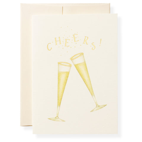 Tipsy Greeting Card