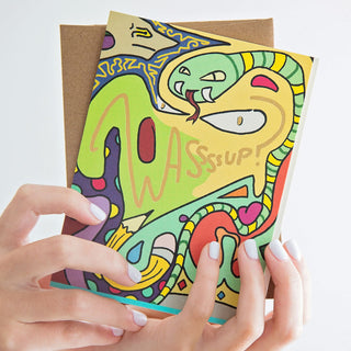 Wassssup Greeting Card