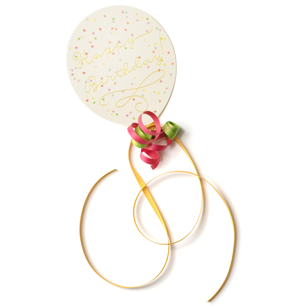 Birthday Balloon Pretty Gift Tag